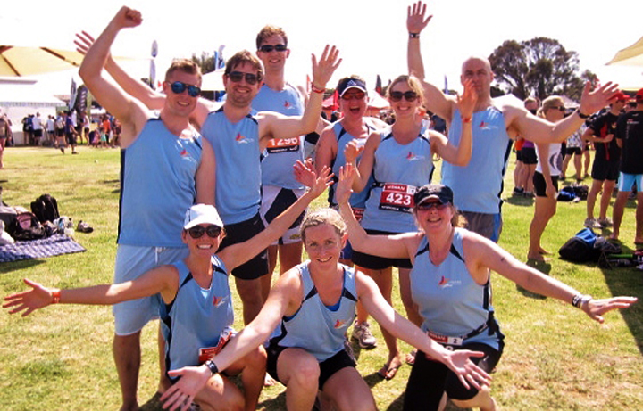 competitors in teambeyondblue, 2013